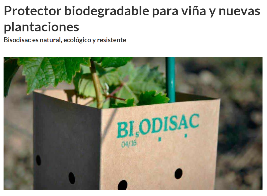 Protector biodegradable para viña y nuevas plantaciones _ Martí Agrícola